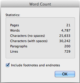 Design Science Word Count